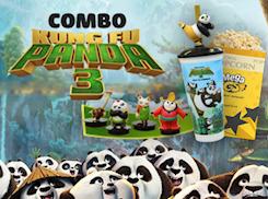 COMBO KUNG FU PANDA 3