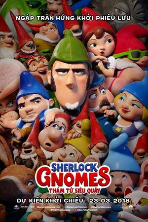 SHERLOCK GNOMES: THÁM TỬ SIÊU QUẬY