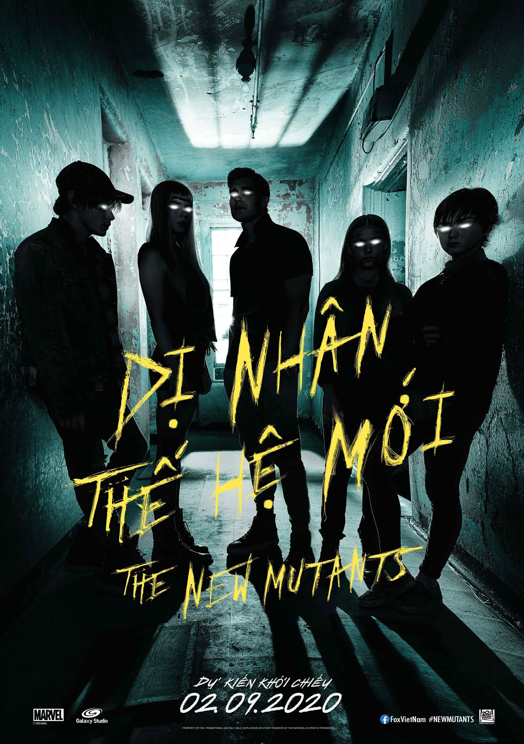DỊ NHÂN THẾ HỆ MỚI - THE NEW MUTANTS [C16]