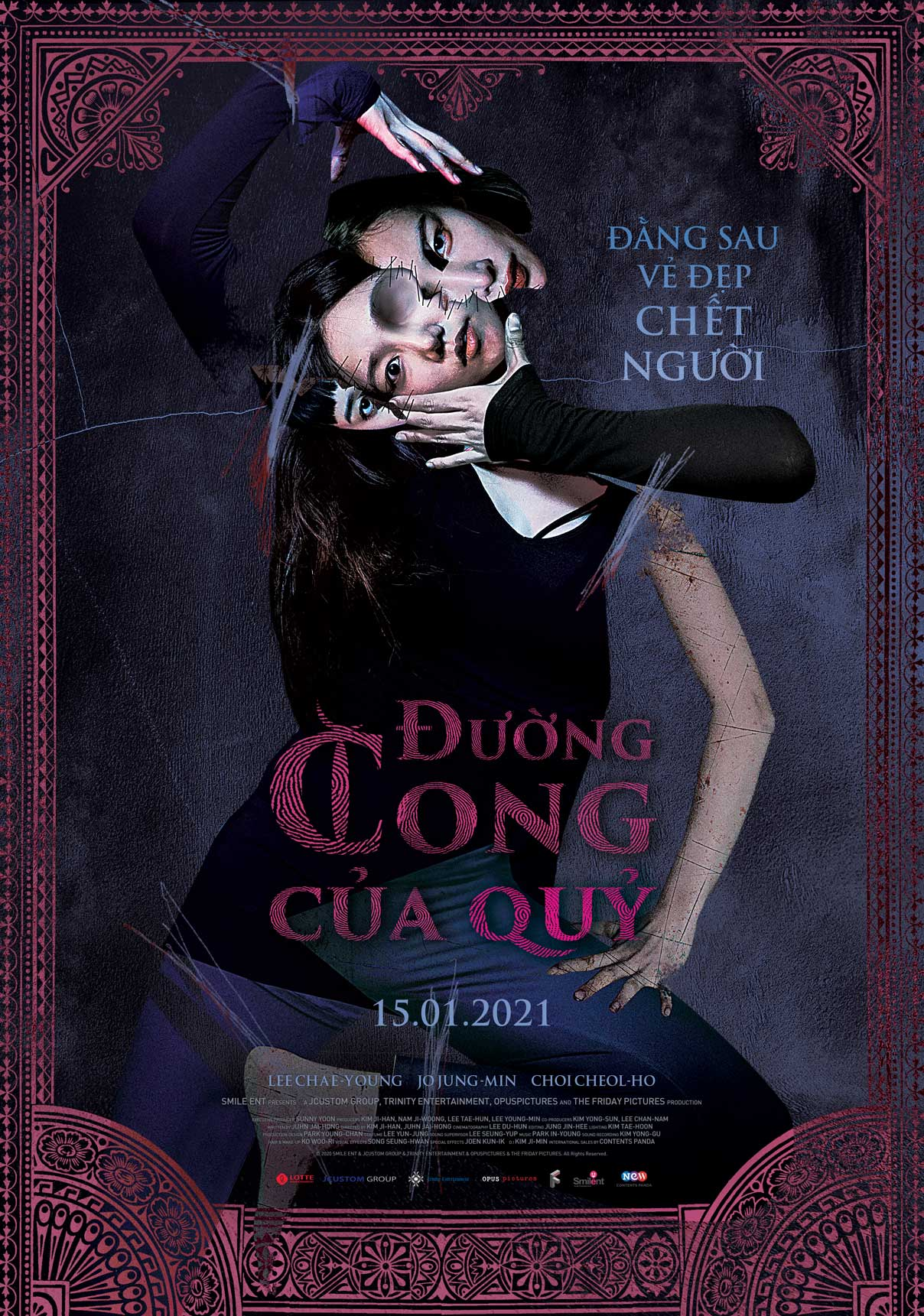 ĐƯỜNG CONG CỦA QUỶ - THE CURSED LESSON [NC18]