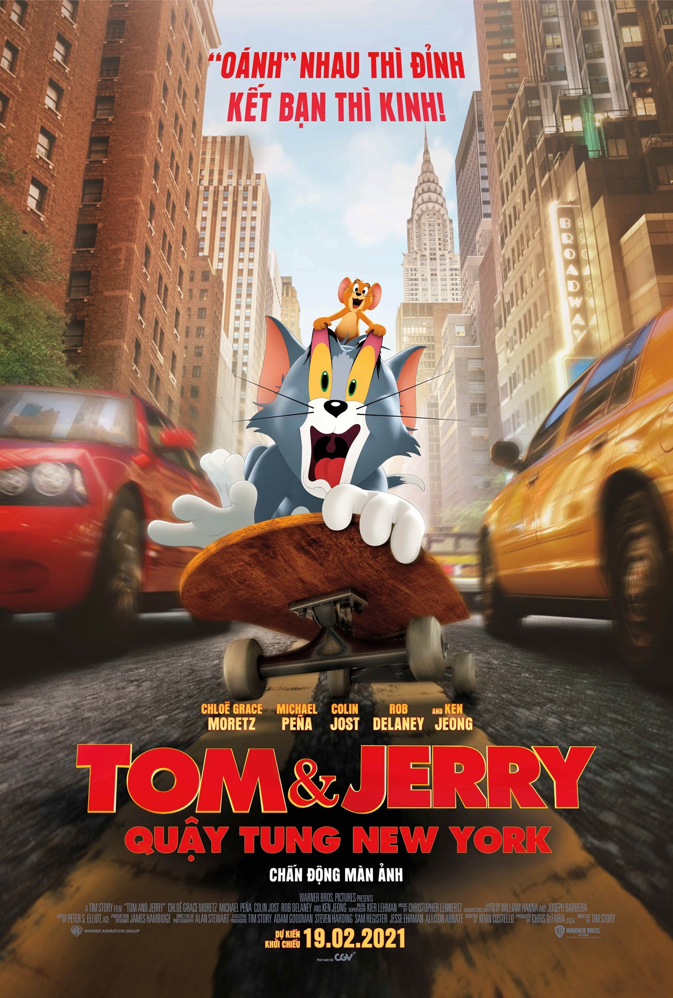 TOM & JERRY: QUẬY TUNG NEW YORK [P]
